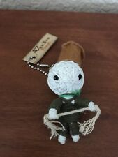 Voo Doo Friends Chef With Rope Keychain NEW