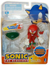 """Sonic the Hedgehog: Sonic Knuckles 3"""" Action Figure With Accessories Emerald"""