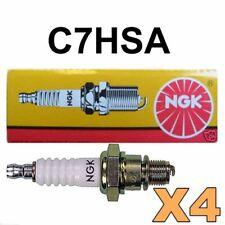 2 X C7HSA NGK Spark Plug Honda Yamaha Kawasaki ATV Motorcycle Pit Dirt Bike