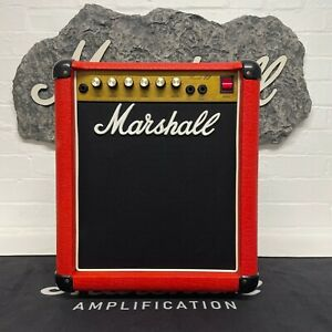 Marshall 1986 Reverb 12 (Lead 12) Master Volume 1x10 Combo Model #5205 Red
