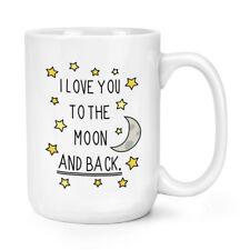 I LOVE YOU to the Moon E Indietro 15oz Mighty Tazza-San Valentino Big Grande