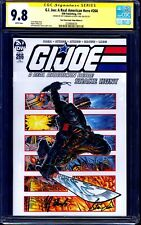 G.I. Joe A Real America Hero #266 ONE STOP COMIC VARIANT CGC SS 9.8 signed x2 +1