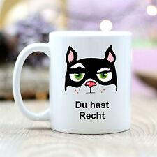 T173 Wandtattoo-Loft Coffee Mug Cat Cat You Have Quite Grumpy Quote Motif