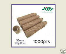 55mm Round  Jiffy Pots  x 1000pcs  - Propagation, Seedling, Herbs, Veggie