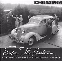Chrysler Airstream Six Desoto Six - 16 Gauge Steel Running Board Set 1935-1936