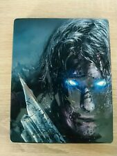 Middle Earth Shadow of Mordor Legion Edition Steelbook case with Game