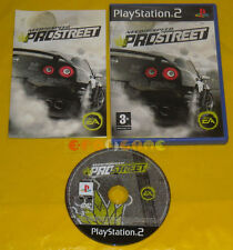 NEED FOR SPEED PROSTREET Ps2 Versione Italiana 1ª Ediz Pro Street »»»»» COMPLETO