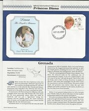 GRENADA PRINCESS DIANA MEMORIAL First Day Cover (4848)