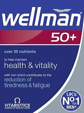 Vitabiotics Wellman 50+ -30 Tablets