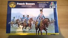 TOY SOLDIERS ITALERI FRENCH HUSSARS 1#REGIMENT HUSSARDS NAPOLEONIC WAR 1/72