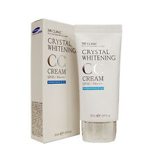 3W CLINIC Crystal Whitening CC Cream 50ml SPF 50 PA+++ Glitter Beige