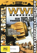 WWII News Reels: 1942 - 1943 - Volume 3  DVD NEW, FREE POSTAGE WITHIN AUST REG 4