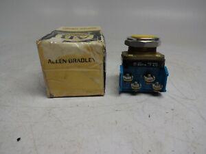 Allen Bradley 800T-A... Ser T NEMA 4,13 Yellow Push Button Series T