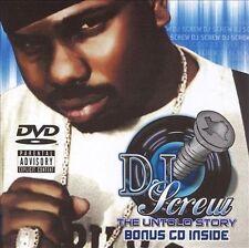 The Untold Story [7/18] by DJ Screw (CD, Jul-2006, Oarfin)