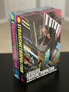 Absolute Transmetropolitan Volume 1 and 2 Ellis Robertson DC Vertigo Hardcover