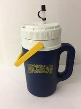 Igloo Michigan Wolverines 1/2 Gallon Insulated Drink Cooler Straw Spout Handle