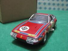 Vintage - FERRARI 365 GTB4 24h Le Mans 1973 - 1/43 Tratamiento Solido