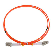 1M Jumper Cable Duplex Multimode LC-LC LC To LC Fiber Optic Optical Patch C X5A4