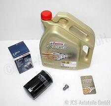 5 L CASTROL EDGE FST 5W30 + BOSCH ÖLFILTER VW GOLF 4 1J 1.6-2.0 TOP NEU