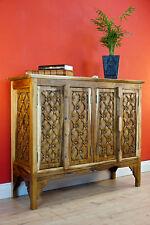 Thailand Solid Wood Dresser Handarbeit Wood Sideboard Furniture Asian Wardrobe