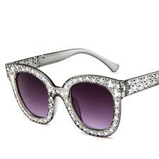 Gafas de sol Mujer Cristal Negro Espejo Cuadrado Retro Completo Estrella