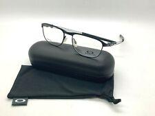 Authentic TRUSS ROD OX5122-0153 SATIN BLACK 53-17-143MM Eyeglasses TITANIUM