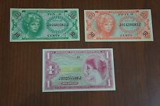 Mpc Series 641 Lot Military Currency