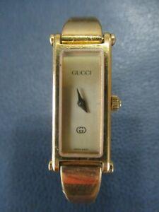 Authentic GUCCI 1500L Womens Wrist Watch