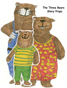 THE THREE BEARS MAGNETIC STORY PROPS – Teacher Resource