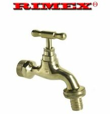 "1/2"" Hose Union Bib Tap Outside Garden Tap polished"