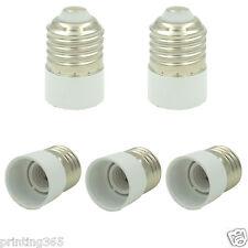 5er E27 auf E14 Konverter Adapter f. Halogen CFL Leuchtmittel LED Lampe Birne