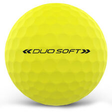 New 2018 Wilson Staff Duo Soft Optix Golf Balls 1 Dozen Yellow