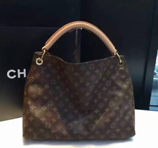 Louis Vuitton Monogram Artsy MM Shoulder Hobo Purse Handbag Bag
