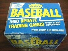 1990 Fleer Baseball Card Update Traded Set Factory Set 132 Cards 22 Stickers