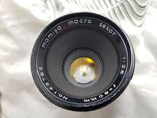 Mamiya Macro Sekor 60mm f2.8 Lens in M42 Mount.