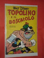 ALBO D'ORO-TOPOLINO n° 53-DEL 1953-IL BOSCAIOLO -DA LIRE 50-mondadori-disney