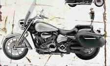Yamaha Stratoliner S 2006 Aged Vintage Photo Print A4 Retro poster