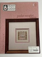 Heart In Hand Needleart - Pocket Sampler Mom Cross Stitch Pattern with Charm