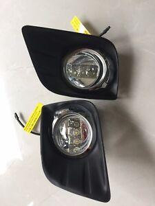 2010 Toyota Prado  FJ150  LED DRL Daytime Running Fog Lights Lamp