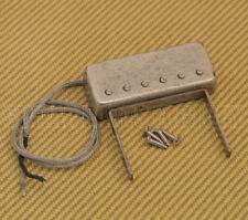G118CL-A Floating Aged Nickel Neck Mount Jazz Style Guitar Pickup Artec