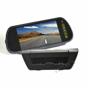 Rear View Reversing Backup Camera + Mirror Monitor Kit for Ford F150 (2015-2017)