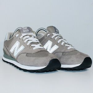 New Balance Womens W574GS 574 Low Top Grey Athletic Running Shoes Size US 9.5 D