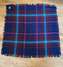 "Vintage -Throw/lap blanket - 45"" x 45""-never been used - Made in France"