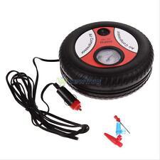 Mini Portable Electric Air Compressor Pump Car Tire Inflator 12V 260PSI w/Gauge