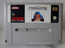 SNES Spiel - The Chessmaster (PAL) (Modul)