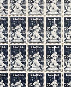 United States #2046 MNH Full Sheet CV$105.00 1983 Babe Ruth [LL P#3]