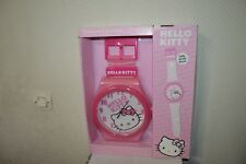 HORLOGE MURALE MONTRE GEANTE HELLO KITTY  GIANT WATCH RELOJ SANRIO NEUF 92 CM