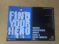 SDCC Comic Con EXCLUSIVE IDW FIND YOUR HERO ROM PROMO CARD 4 X 6