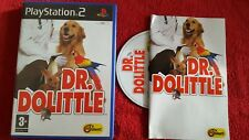 DR DOLITTLE ORIGNAL BLACK LABEL SONY PLAYSTATION 2 PS2 PAL