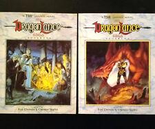 The DragonLance Saga #1 & #2 (Nov 1987, TSR)